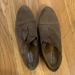 Tan Suede Steve Madden Loafers Size 9.5